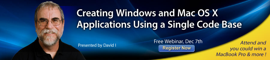 Create Windows and Mac OS X Applications Using a Single Codebase