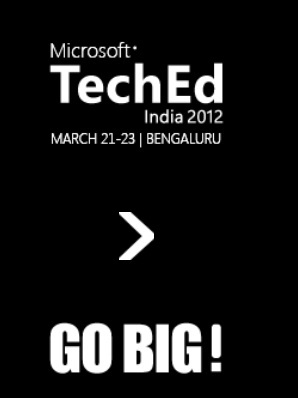 Microsoft TechEd India 2012 - Registrations open