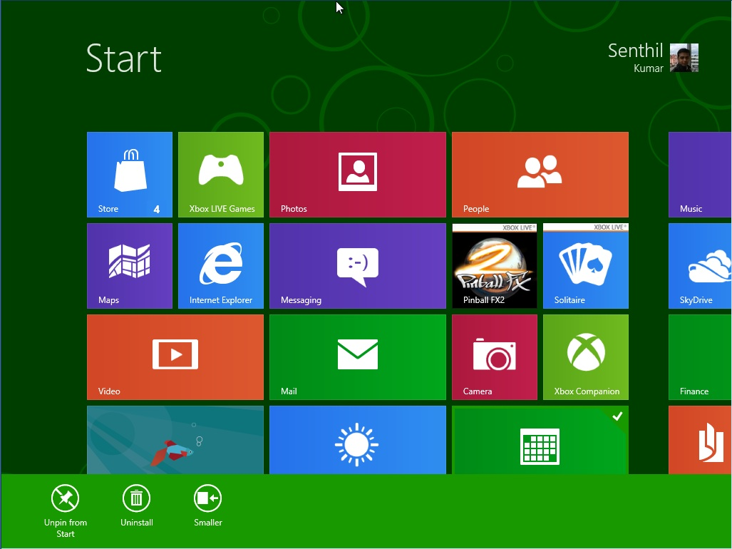 Windows 8 Consumer Preview and Start Screen