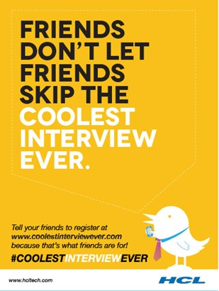 HCL's First Ever Global Twitter Recruitment Campaign