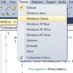 Themes for the Visual Studio 2010 IDE