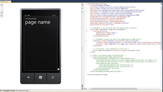 How to change XAML Designer Display to Horizontal in Visual Studio 2010?