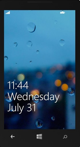 Launching the Lock Screen in Windows Phone Emulator