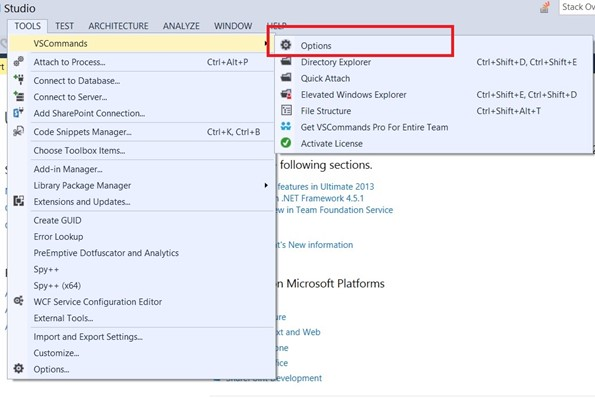 Visual Studio 2013 Tips & Tricks - Disable All Caps in Menu title