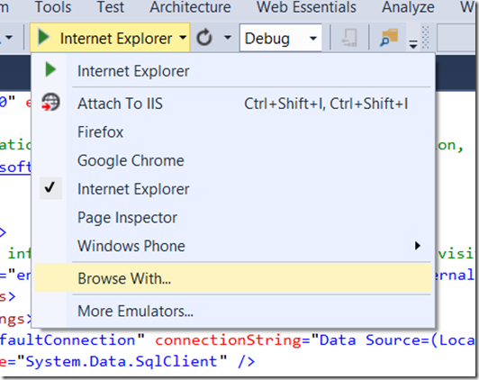 Visual Studio 2013 Tips & Tricks - Browser Link