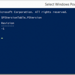 How to find the Installed version of the PowerShell ?
