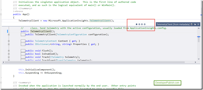 Visual Studio 2015 Tips and Tricks - Enhanced Peek Definition