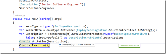 C# Tips and Tricks #2 - How to Get the Description Attribute Value of Enum in C# ?