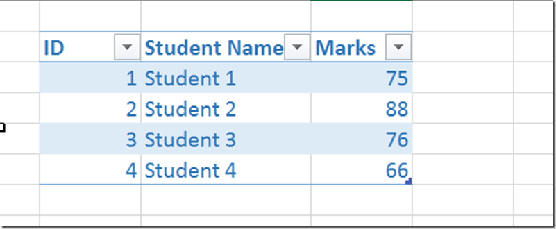 How to highlight alternate rows or columns in Microsoft Excel 2016 using Table Style?