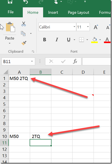 How to remove the First and Last Characters from the Cell in Microsoft Excel 2016 ?