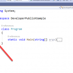 How to Collapse Section of Code in Visual Studio using shortcut key?