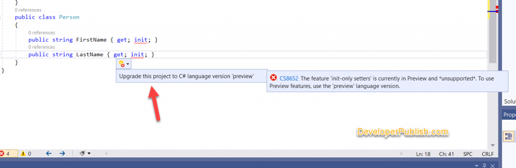How to Download C# 9.0 Preview , Install and Try ?