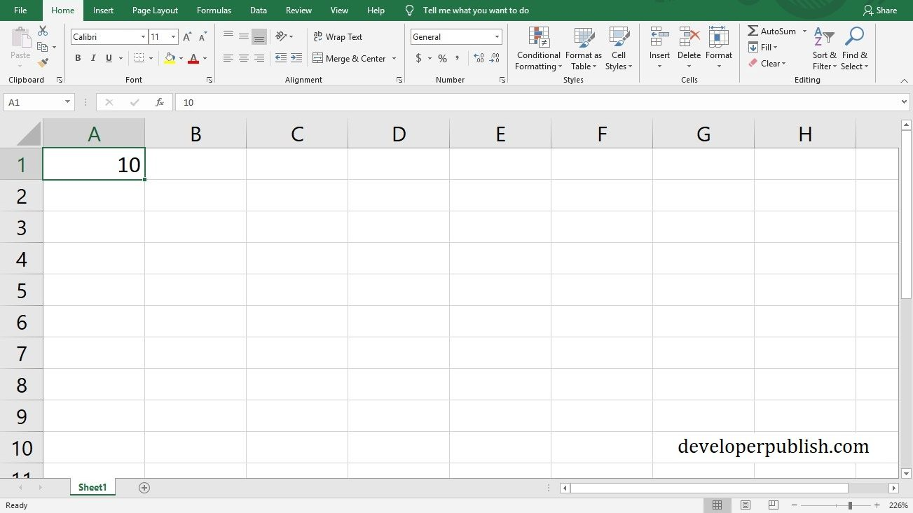 How to convert centimeters to inches in Microsoft excel?