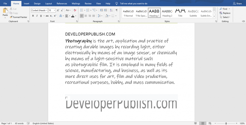How to Apply Styles in Microsoft Word?