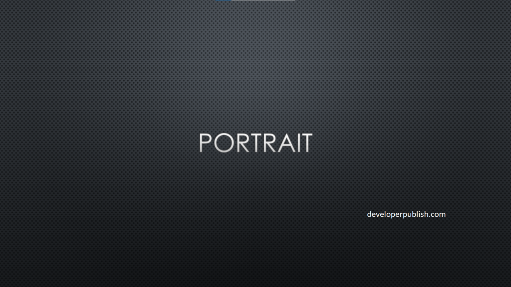 How to use portrait and landscape slide orientation in the same PowerPoint presentation ?