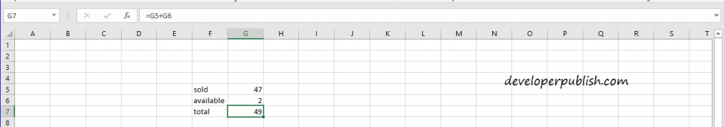 Formulas and Functions in Microsoft Excel