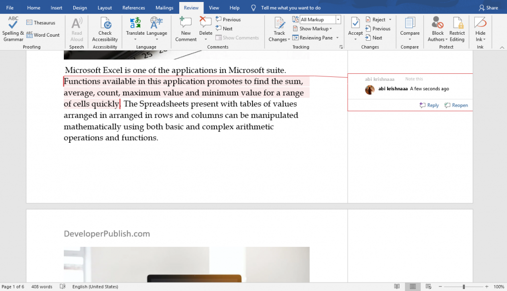 How to Accept Tracked Changes in Word?