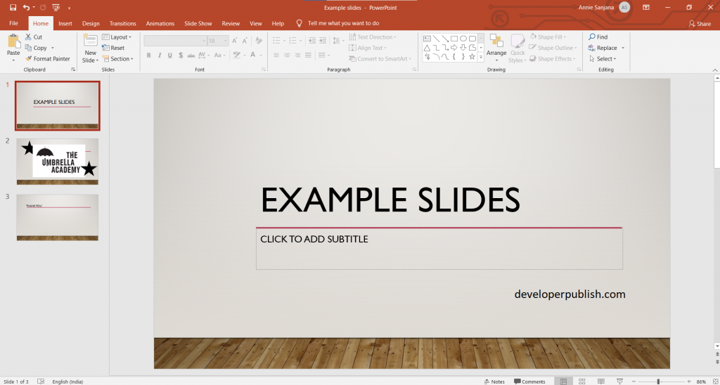Change the order of stacked objects or shapes on a slide in PowerPoint