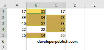 Row Differences using GoTo Special in Excel