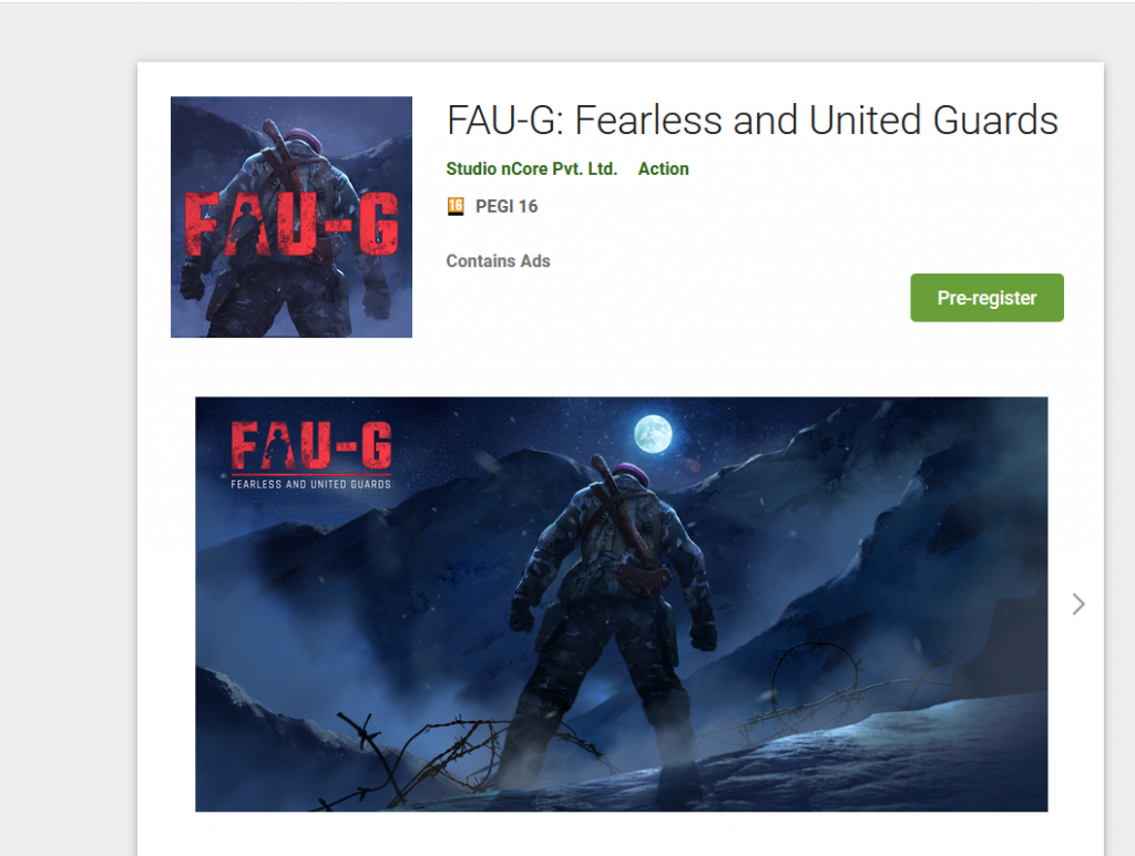 FAU-G for Android and iOS Download and Launch Date