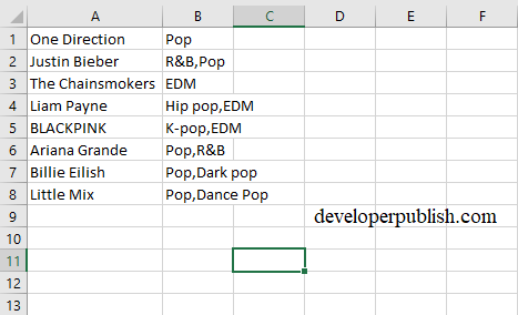 'Convert Text to Columns Wizard' in Excel