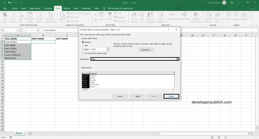 How to Separate Strings in Excel?