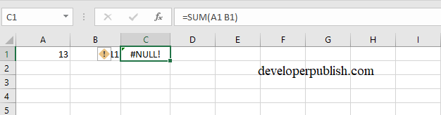 How to Deal with Formula Errors in Excel