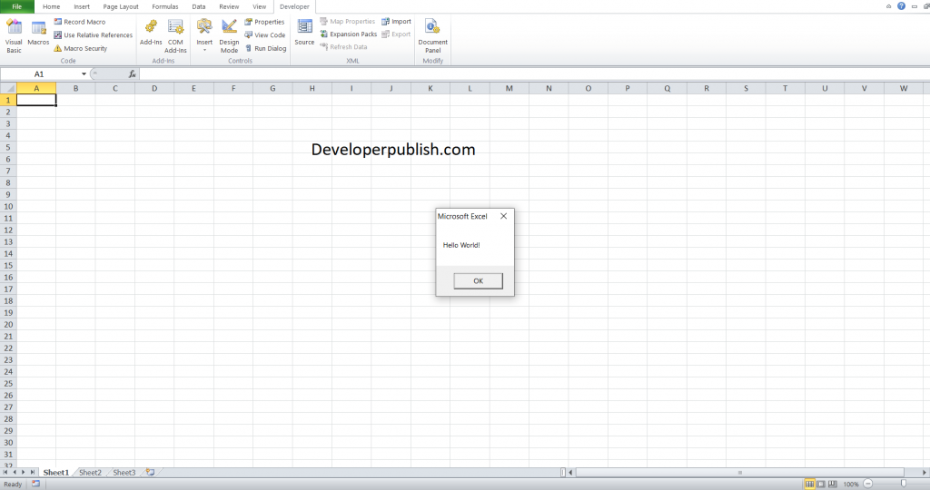 Getting Started with VBA in Excel