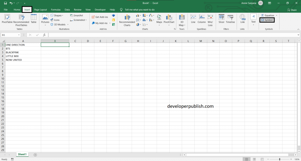 5 Best ways to insert a tick symbol and cross mark in Excel