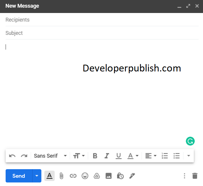 How to Sent Email in Gmail ?