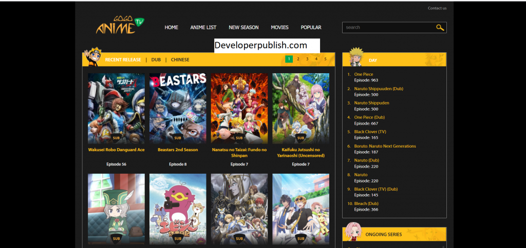 Top 10 Free Website to Watch Anime Movies Online