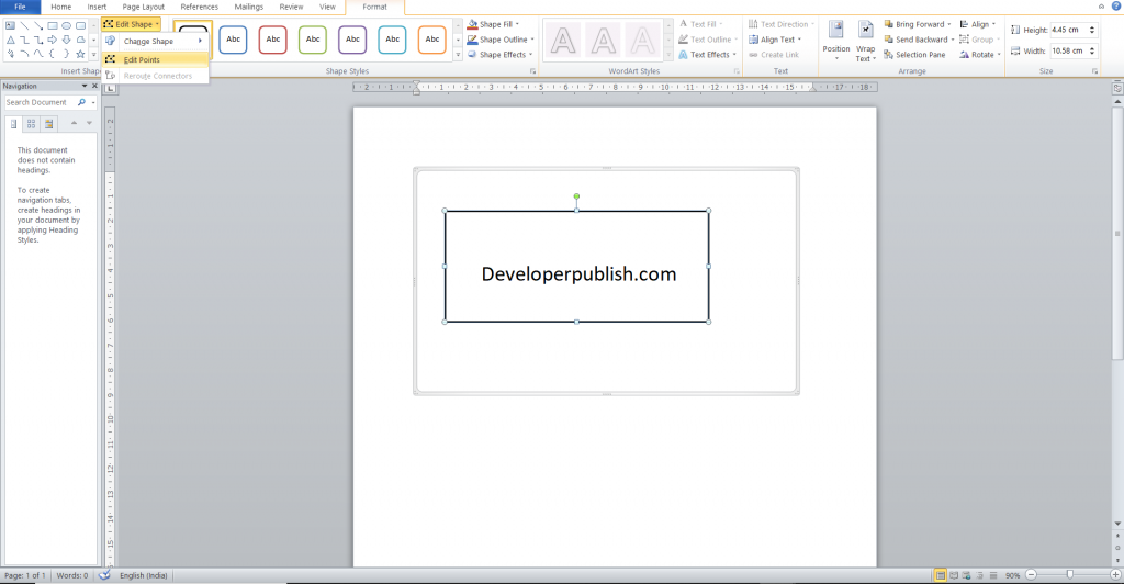 How to Add Drawing to your Word document?
