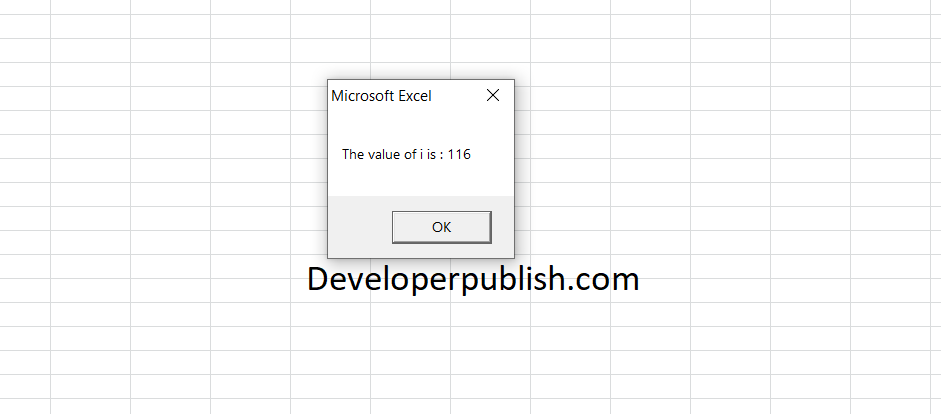 Loops in Excel VBA with Examples