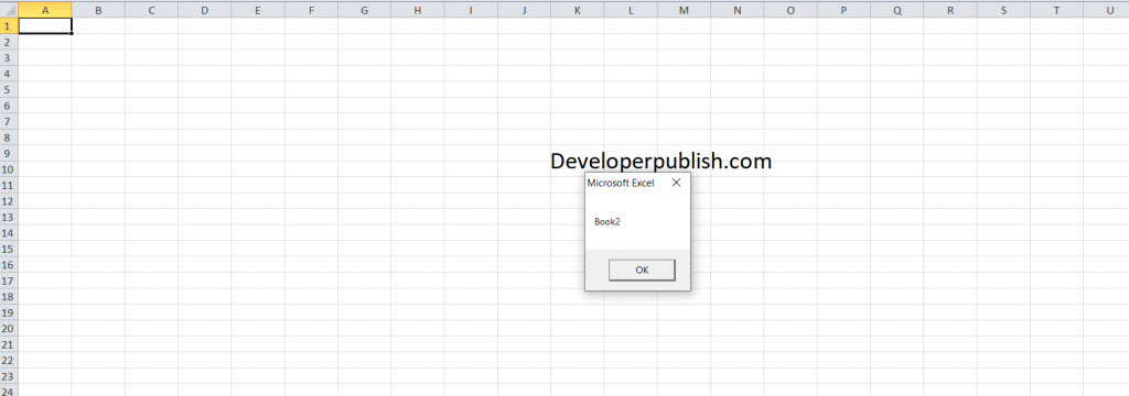 How to Create New Workbook in Excel VBA?