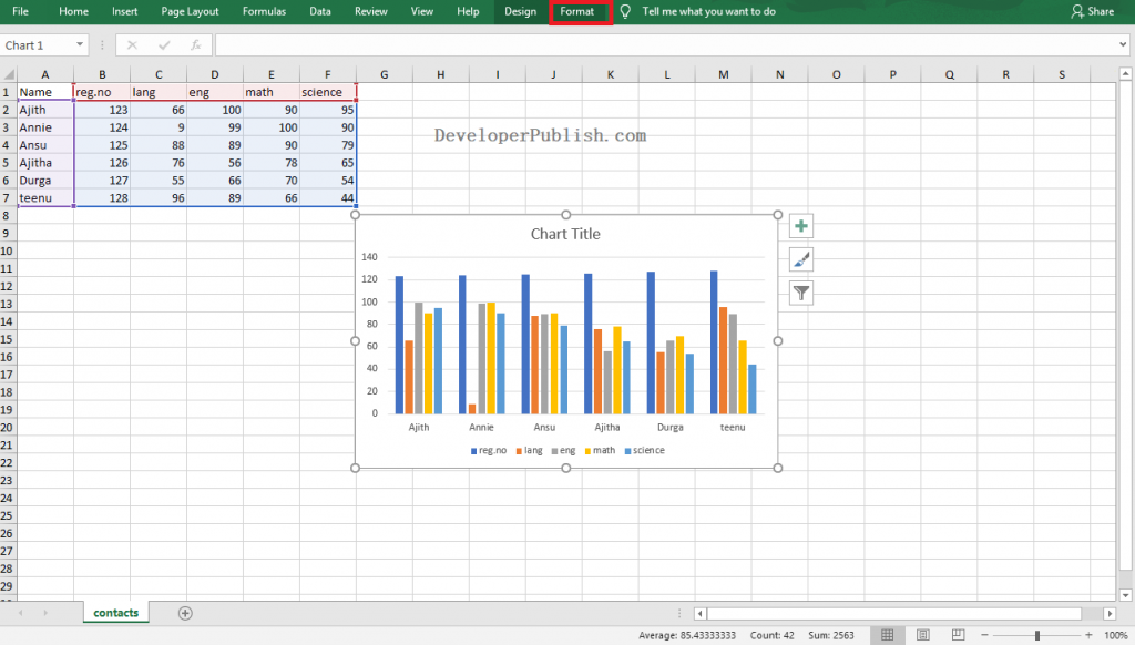 How to Rotate Excel charts and Worksheet in Excel?