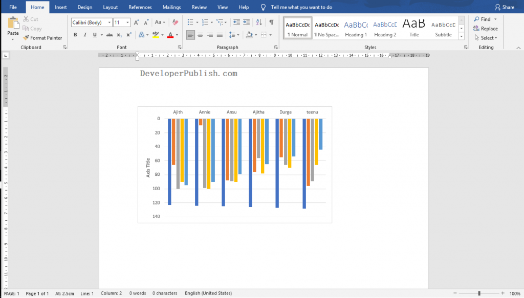 Save Excel Chart as Image