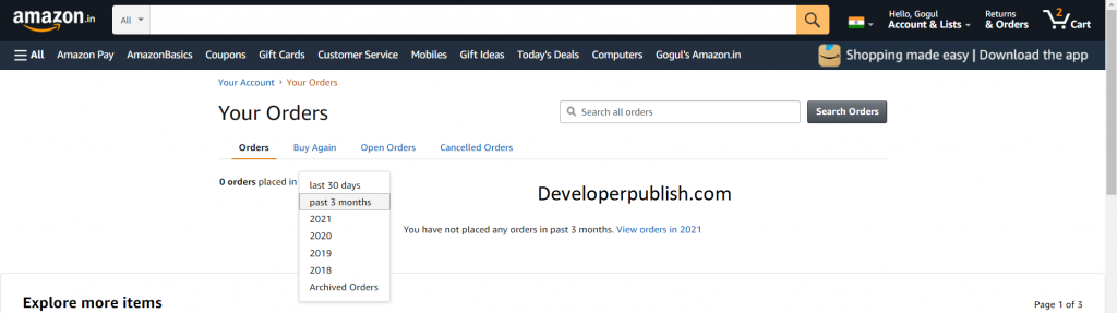 How to View Your Archived Orders on Amazon?