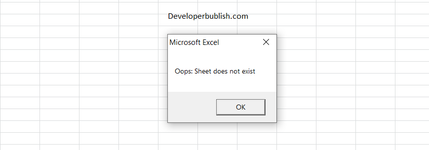 How to Get Sheet Name in Excel VBA?