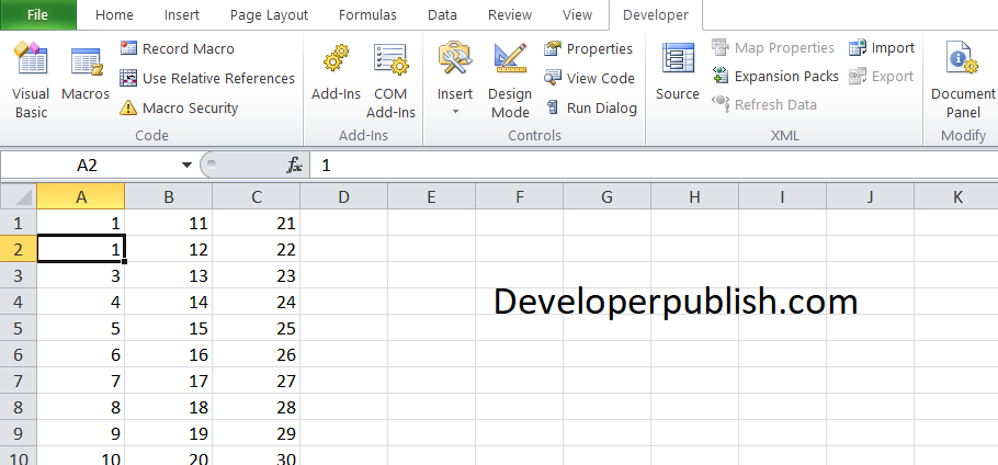 How to Get and Set Cell Value in Microsoft Excel VBA?