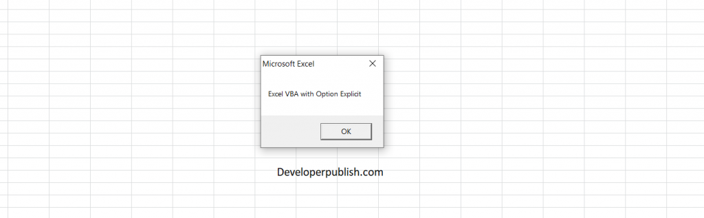 In this post, you'll be learning how to use option explicit when working with your Excel Spreadsheet while you using Excel VBA.