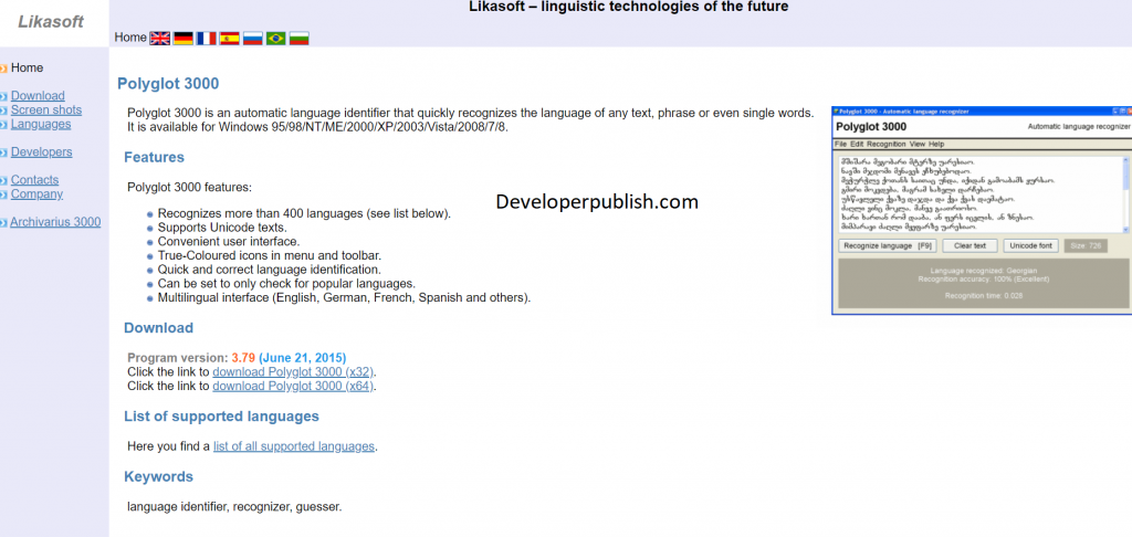 Best ways to Identify the Language of a Text Online