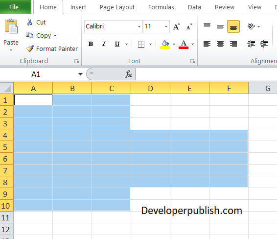 How to use Union and Intersect in Excel VBA?