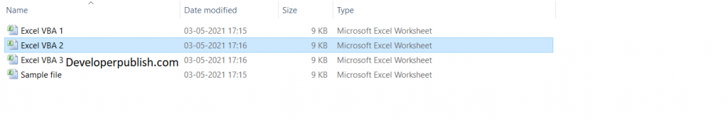 How to Rename a File in Excel VBA?