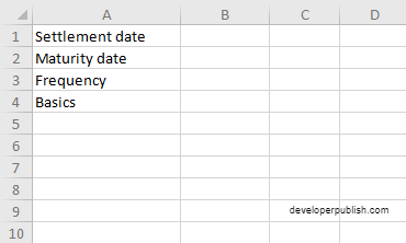 How to use COUPPCD  function in Excel?