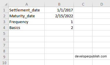 How to use COUPDAYBS function in Excel?