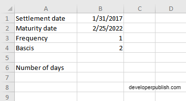 How to use COUPDAYS Function in Excel?