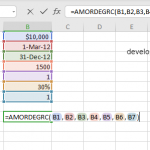 AMORDEGRC function in Excel
