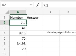 How to use EVEN Function in Excel?