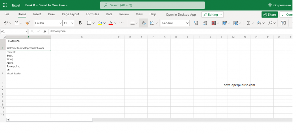 How to use CLEAN function in Excel?