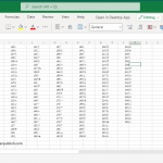 CHAR function in excel